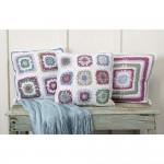 Pansy Patch Pillows Free Crochet Pattern