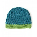 Patons Snug with Clusters Hat Free Crochet Pattern