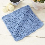 Roanoke Dishcloth Free crochet pattern