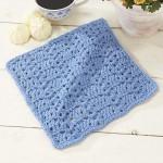 Roanoke Dishcloth Free crochet pattern