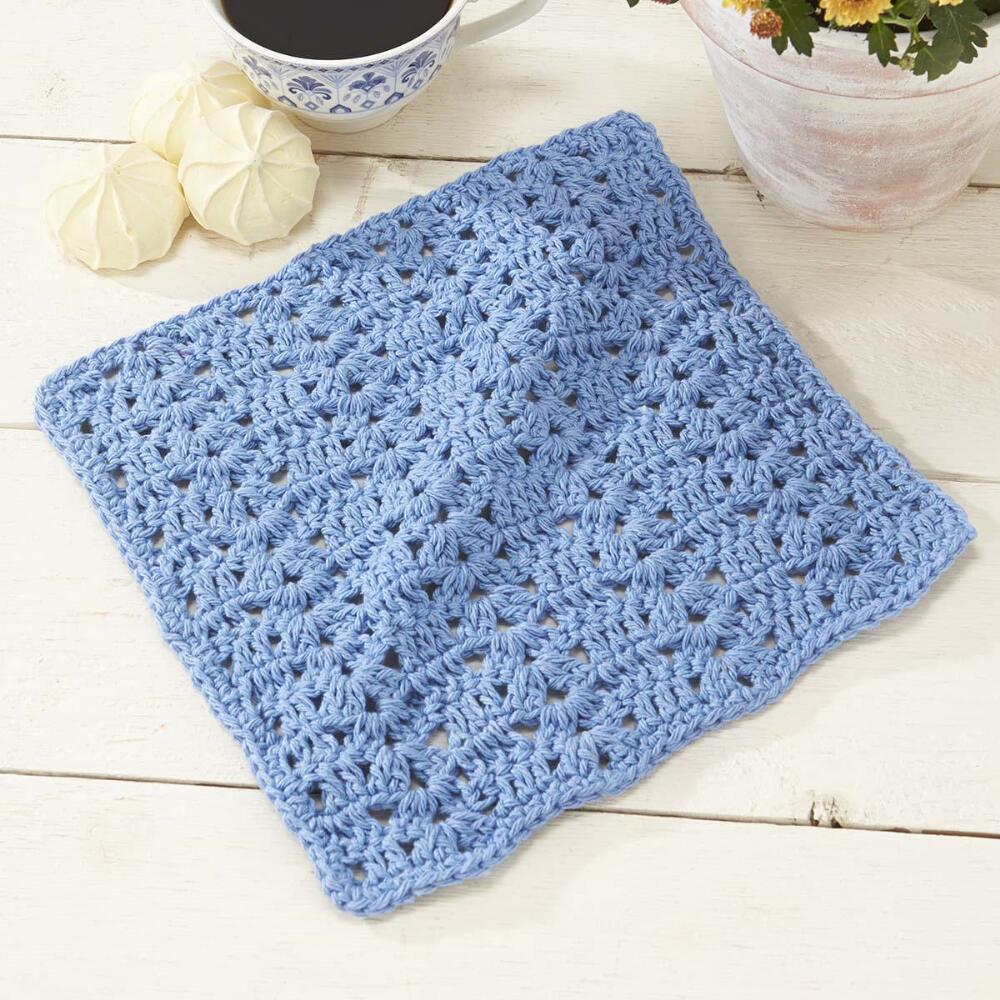 Roanoke Dishcloth Free crochet pattern ⋆ Crochet Kingdom