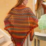 Summer of Love Shawl Free Crochet