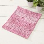 Sweet Pea Dishcloth Free Crochet Pattern