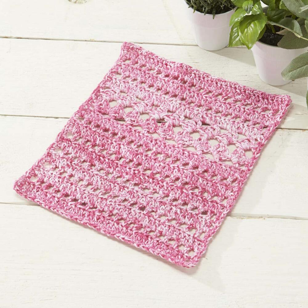Sweet Pea Dishcloth Free crochet