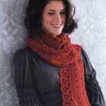 Emma Lace Crochet Scarf Pattern