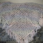 Thin and Delicate Crochet Shawl Pattern
