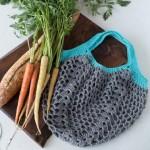 Market Tote Crochet Bag