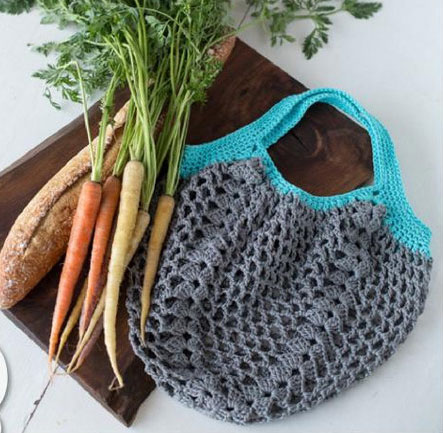 Market Tote Crochet Bag ⋆ Crochet Kingdom