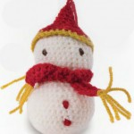 Snowman Amigurumi to Crochet