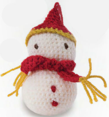 snowman-crochet-amigurumi