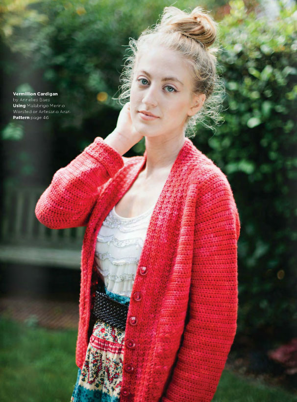 Vermillion Cardigan Crochet Pattern Crochet Kingdom
