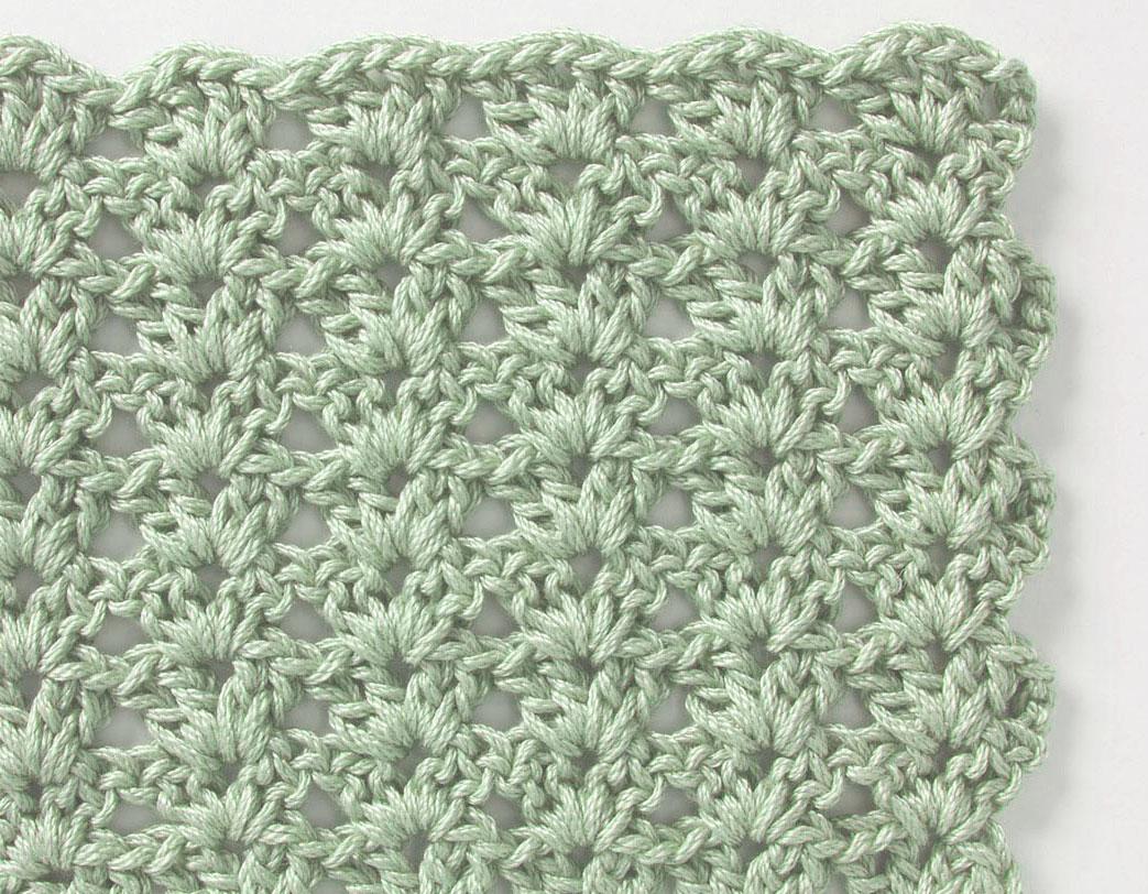 Free Crochet Stitch Shell Pattern ⋆ Crochet Kingdom