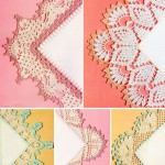 Crochet edging for fabrics