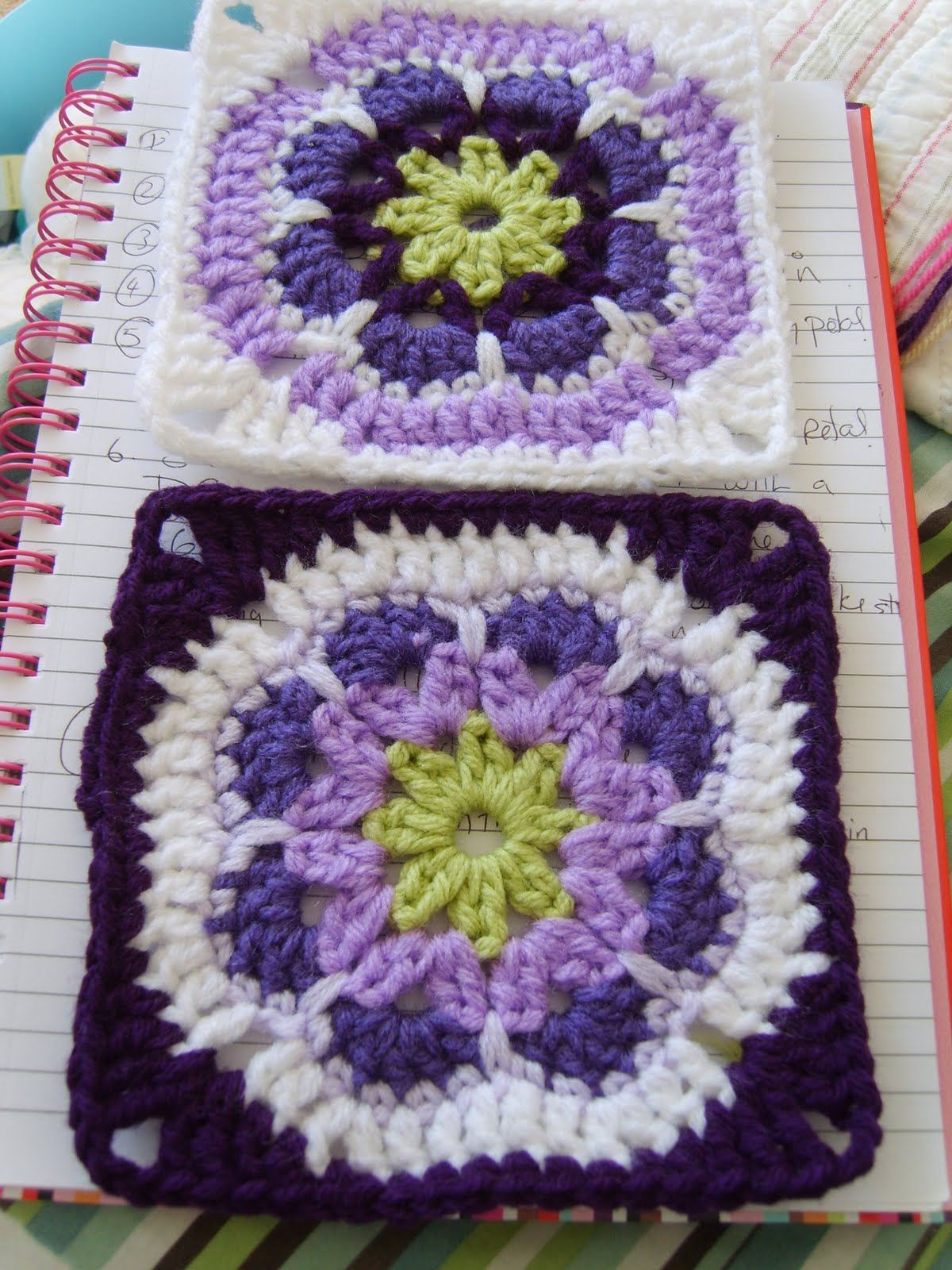 African flower granny square ⋆ Crochet Kingdom