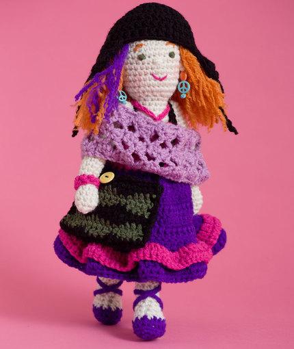 Artistic Annie Doll free crochet