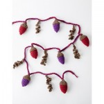 Autumn Acorns Garland Free Crochet Pattern