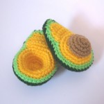 Free Crochet Pattern: Avocado