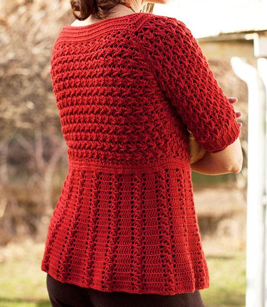 Azilal Cardigan Free Crochet Pattern1