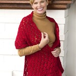 Beautiful Crocheted Shawl Free Pattern