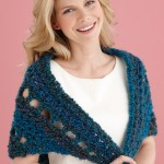 Free Crochet Pattern: Beginner's Triangle Shawl