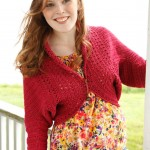 Betty Cardigan Free Shrug Pattern
