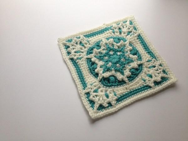 Blizzard Warning! Free Crochet Square Pattern