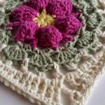 Blodyn Crochet Square