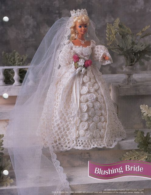 crochet barbie bridal gown Archives ⋆ Crochet Kingdom (5 free ...