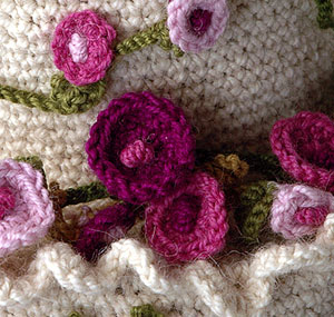 Buttercream Free Crochet Cake Pattern 2