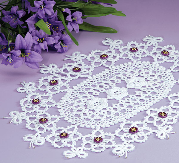 Butterfly Dreams doily crochet pattern