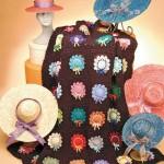 Chapeaus free crochet afghan pattern