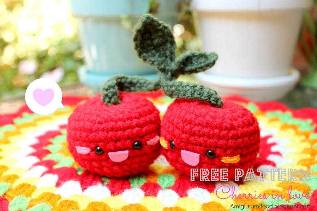 Cherry Amigurumi Crochet Pattern Crochet Kingdom