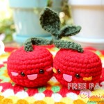 Cherry Amigurumi Crochet Pattern
