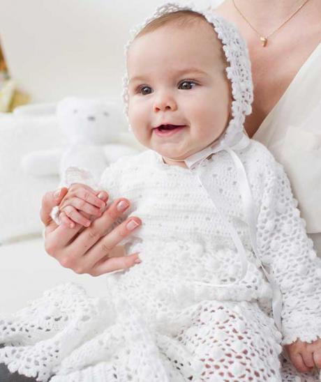 Christening Gown And Bonnet Crochet Pattern Crochet Kingdom