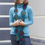 Circle Shades Scarf free crochet