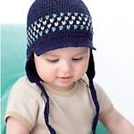 Crochet Cap with Earflaps Free Baby Crochet