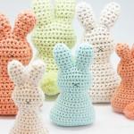 Crochet Easter Egg Bunny Free Pattern