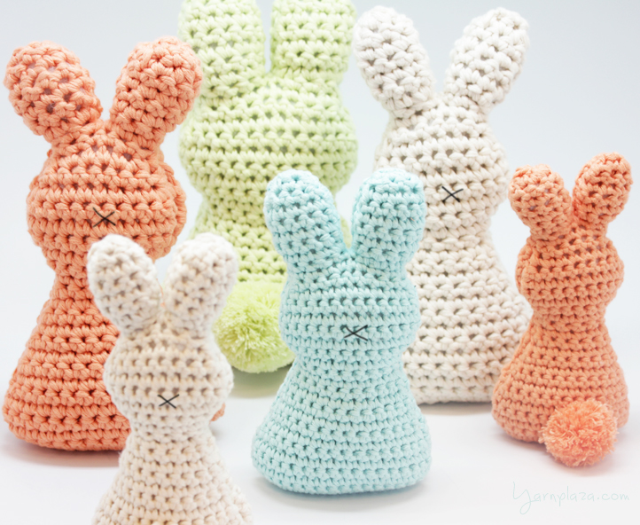 Crochet Easter Egg Bunny Free Pattern Crochet Kingdom