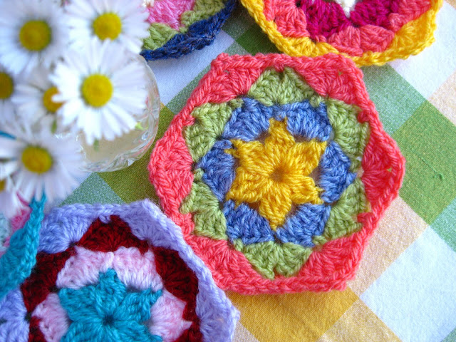 Crochet Hexagon Tutorial Free Crochet