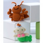 Crochet Little Lobster & Baby Mermaid amigurumi pattern