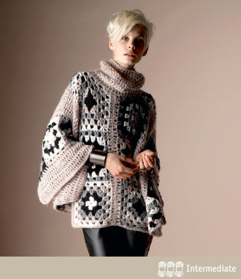 Free Crochet Poncho Patterns Australia : Crochet Poncho Free Crochet Pattern ? Crochet Kingdom