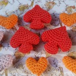 Crocheted Spades - Free Pattern