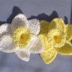 Daffodils of Spring Crochet Flowers