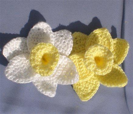 free crochet daffodils Archives ⋆ Crochet Kingdom (2 free crochet ...