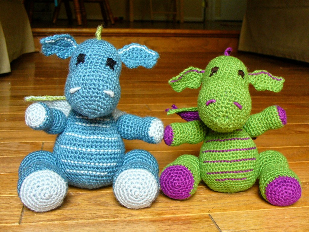Large Amigurumi Pattern Free : Dragons Amigurumi Crochet Pattern ? Crochet Kingdom