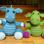 Dragons Amigurumi Crochet Pattern