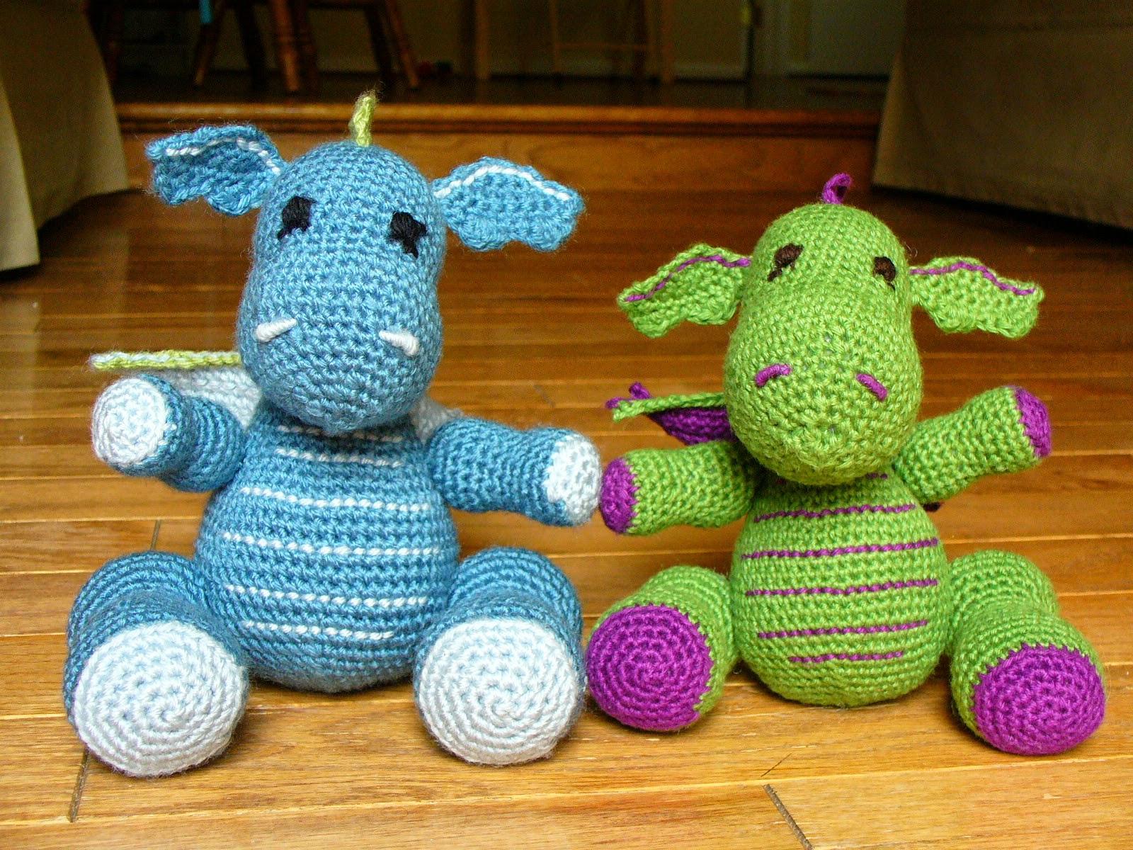 Amigurumi Pattern Dragon Free : Dragons Amigurumi Crochet Pattern ? Crochet Kingdom
