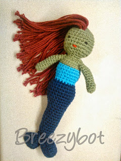 FREE Mermaid Amigurumi Crochet Pattern