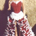 Fandango Dress for Barbie Free Crochet Pattern