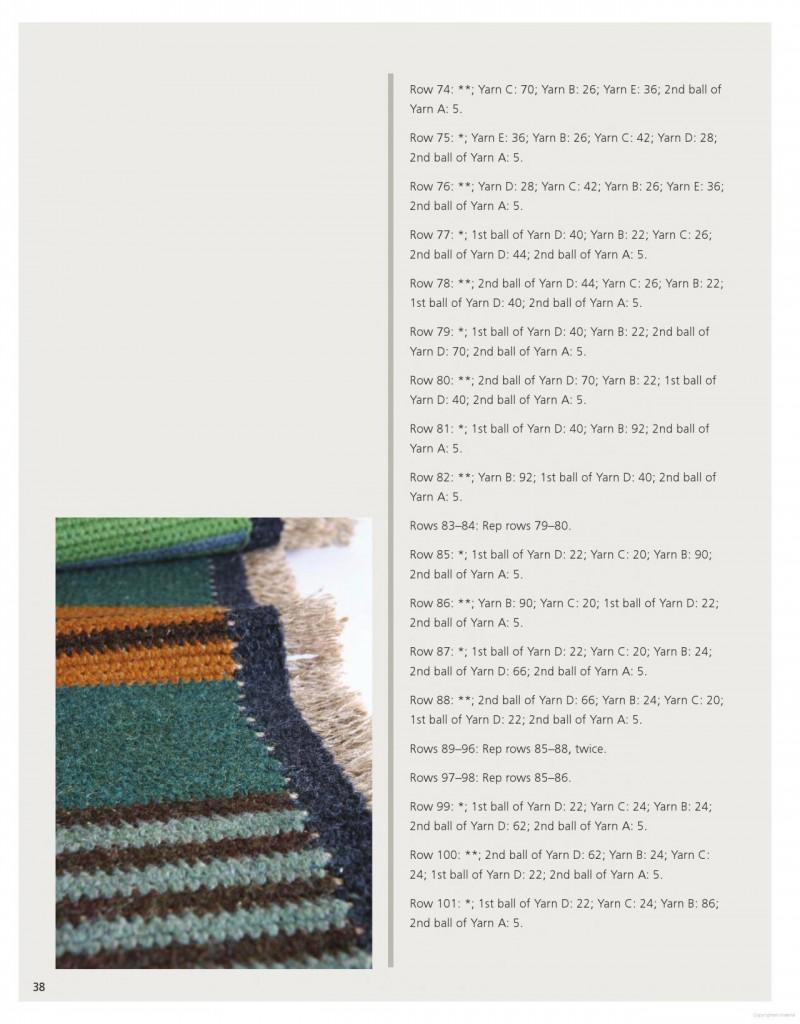 Farm Rug Crochet Pattern 5